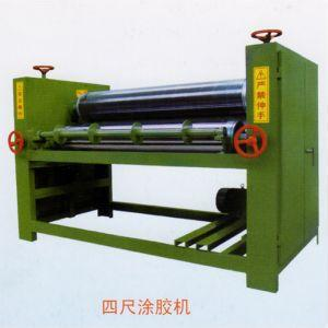 single/double side coating machine for woodworking/gluing machine
