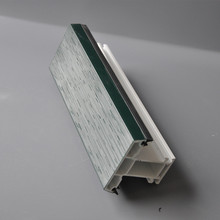 Double Colour Extruded UPVC Window and Door Profile