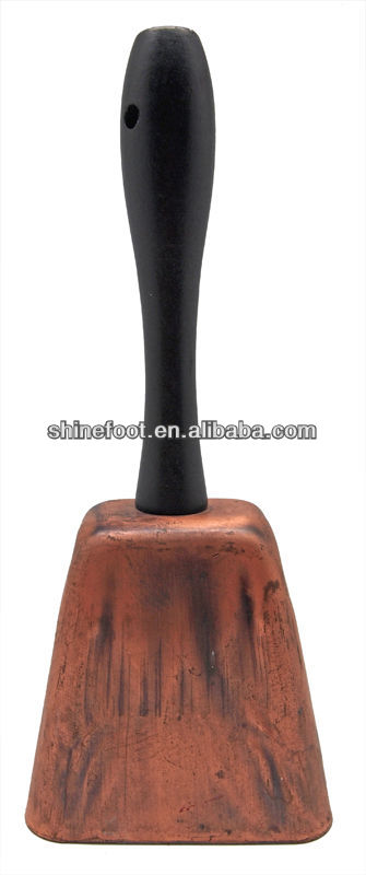"8"" handle cowbell for sporting events/promotions (A636)"