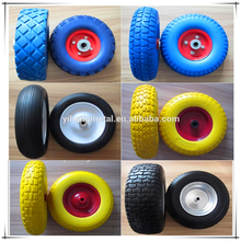 Pneumatic Small Trolley Wheel with Metal/Plastic Rim 3.00-4 3.50-4 5.00-6 3.50-8 4.00-8