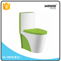 DK8808A(green)LCL/FCL manual mould saving water shattaf toilet seat bidet