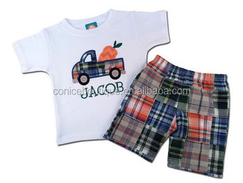wholesale back to school boutique baby clothes hot sale boy clothes
