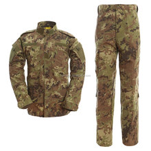 2017 hot sale Italian army uniforms Italian camouflage military clothes