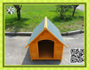 Outdoor Brown wooden clever house for dog XD 012