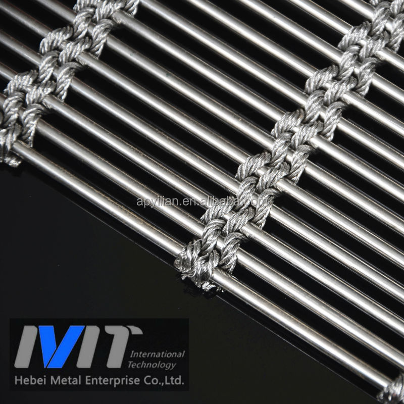 China Supplier Stainless Steel Decorative Wall Panel/Wire Mesh for architecture