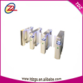 waterproof access control fingerprint sliding turnstile barrier glass gate