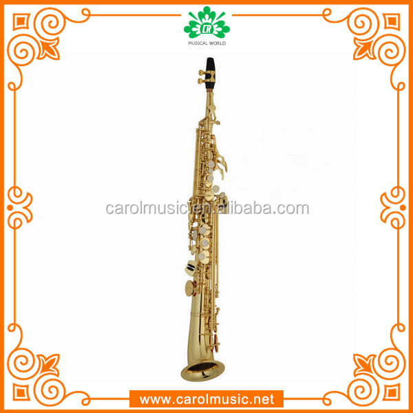 SS201 Cheap Musical Instruments Soprano Sax