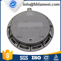 Ductile Iron Cast Manhole Lid Well Lid