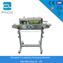 DBF-900LD Shanghai China Factory Supplier Continous Plastic Food Containers Sealing Machine