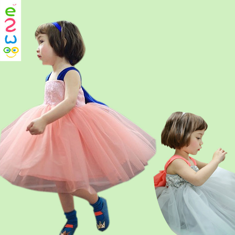 China Designer Tutu Dress Kids Girls Suspender Skirt