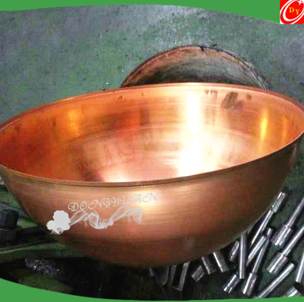 Hollow Copper Semi Sphere Price Supplier/ Copper Stainless Steel Hemisphere