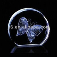 Round Blank Crystal Cubes for Engraving and Glass Paperweights Wholesale