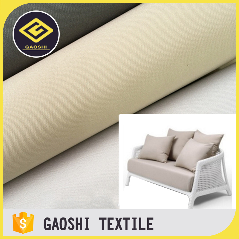 Various Styles Unique Shape Pu Backing Polyester Oxford Waterproof Fabric  For Outdoor Furniture Sofa Cushions Cover
