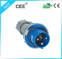 CEE-0332 IP67 63A coupler electrical plug connectors