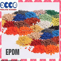 Rubber Tires / Chips, Chocolate EPDM Granules -F-V-0819