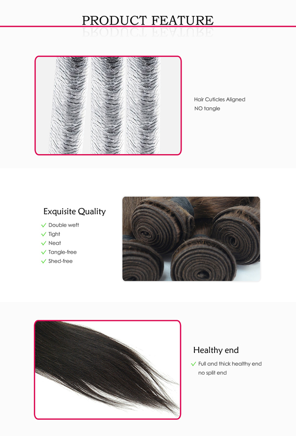 Very popular wholesale raw straight peruvian virgin hair