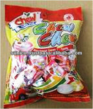 Fruits chewy filling candy 400g