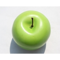 Artificial fruit for home decoration fake green apple