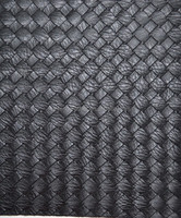 Hot selling weave embossed of pvc leather fabric/synthetic leather for bags,decorative and shoes