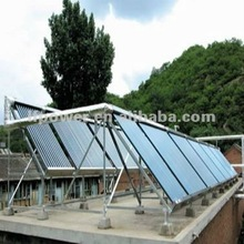 Heat pipe solar thermal vacuum tube solar collector
