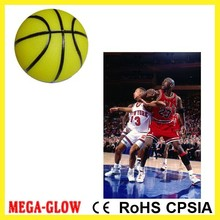 glow in dark! shoot! basketball ball