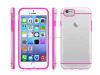 cell phone case for iphone 6s, transparent pc case for iPhone6s