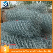 Alibaba China galvanized & PVC coated chain link fence for sale,low price cheap high quality heavy duty chain link fencing