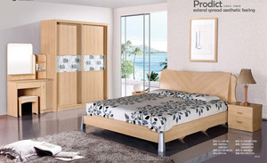 Price guangzhou bedroom furniture,MDF bedroom set