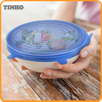 Kitchen Various Sizes 6 Pack Silicone