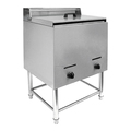 14L Free Standing Commercial 1 Tank 2 Basket Stainless steel Gas Deep Fryer