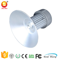 Factory 30w 50w 70w 80w 100w ip65 led high bay light industrial warehouse high bay lamp