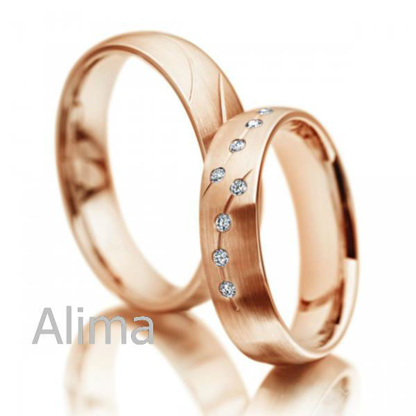 Wedding rings with engraved Sample picture of wedding ring