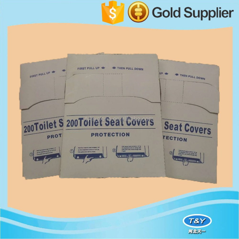 1/4 fold disposable tissue paper Toilet Seat Covers Training Kids Children Soft
