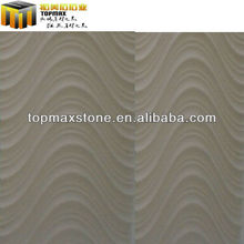New design 3D White sandstone wave design