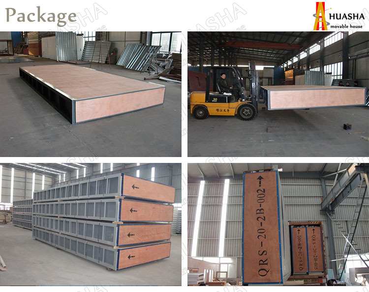 ISO certification construction site prefabricated modular mobile house