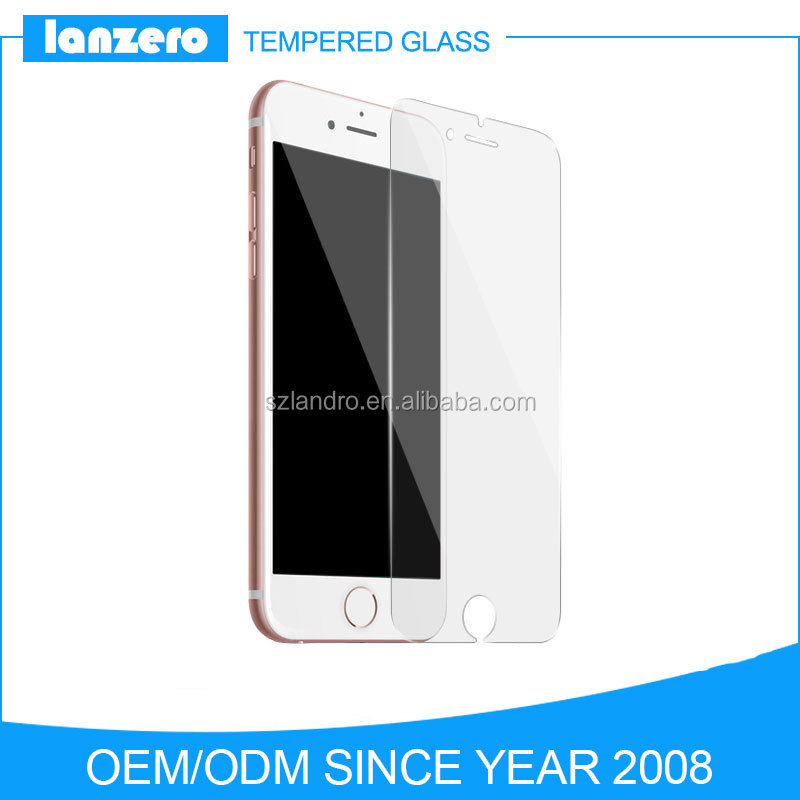 For iPhone 7 Wholesale 9H 0.3mm 2.5d Tempered Glass Screen Protector