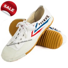 Wholesale white canvas shoes for martial art training