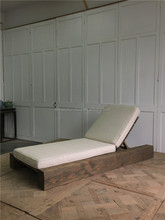 outdoor waterproof solid wood daybed