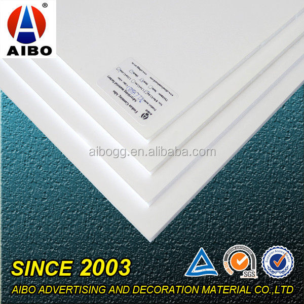 white paper foam board digital printing material for advertising paintings