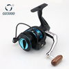 Top Blue Aluminum Spool Spinning Fishing Reel GO3000