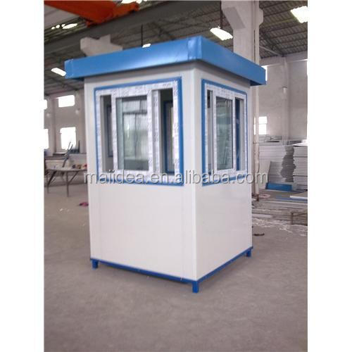 Top end in high quality guard shack/mobile sentry box/movable sentry box of China made