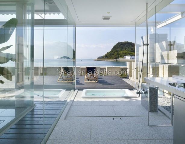 Prefabbricato casa di vetro forte veranda in alluminio conservatorio serre della multi portata - Prefabbricato casa ...