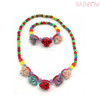Plastic Kids Wristwear Necklace Kids Beads