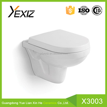 X3003 hot sale wall hung washdown water closet one piece toilet