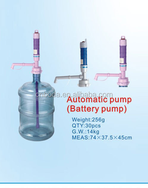 attractive and durable small battery powered water pump