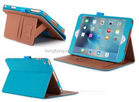 Handrest tablet case for iPad Air credit cards slot cover