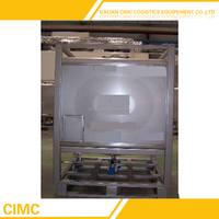 High Quality Squareness Stainless Steel IBC Container