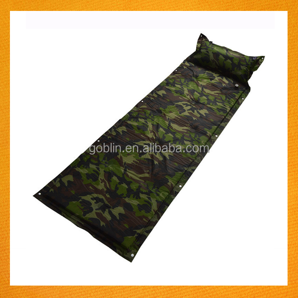 GBIY-827 Amazon Hot Selling Automatic Inflating Sleeping Pad for Camping Outdoor Self-inflating Sleeping Pad, Sleeping Mat