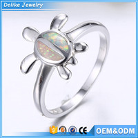 Fashion opal jewelry rings , tortoise finger ring