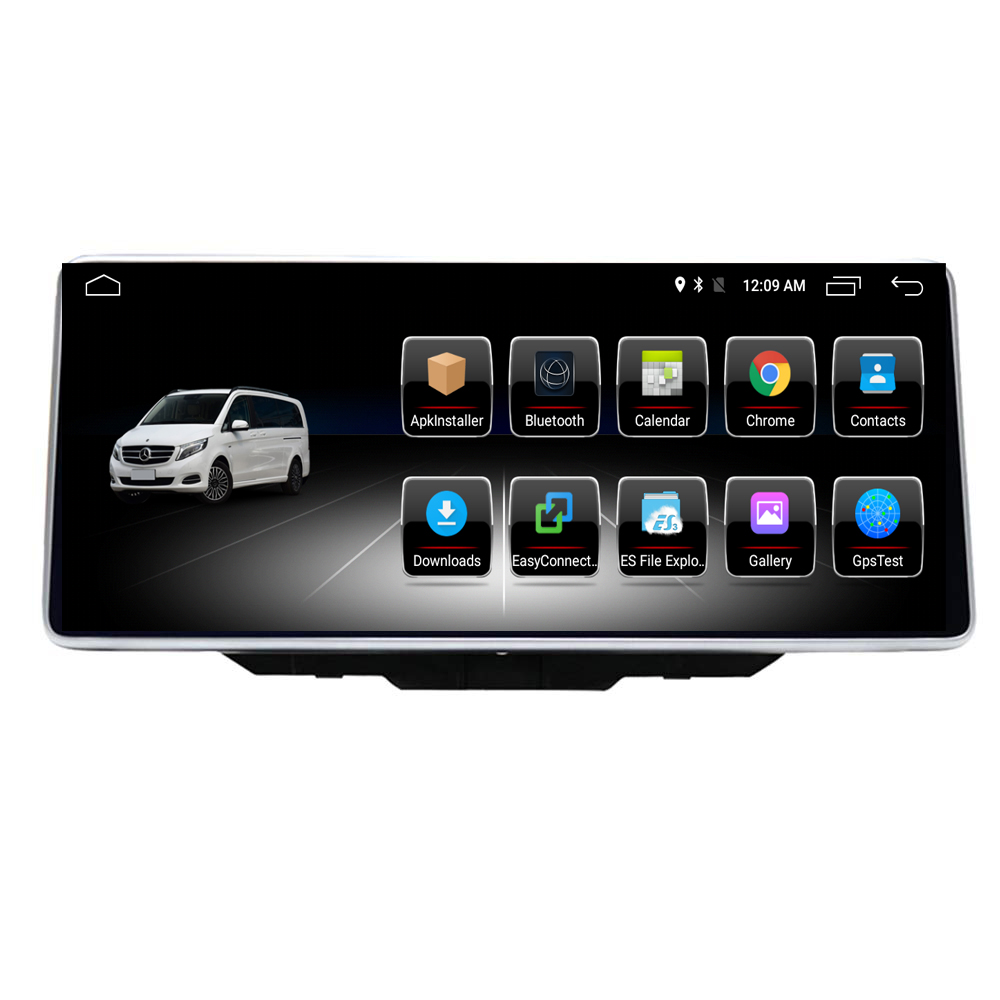 2+32G ROM <strong>10</strong>.25&quot; Android 8.1 Car Radio Head Unit Screen for Ben <strong>z</strong> B Class W246